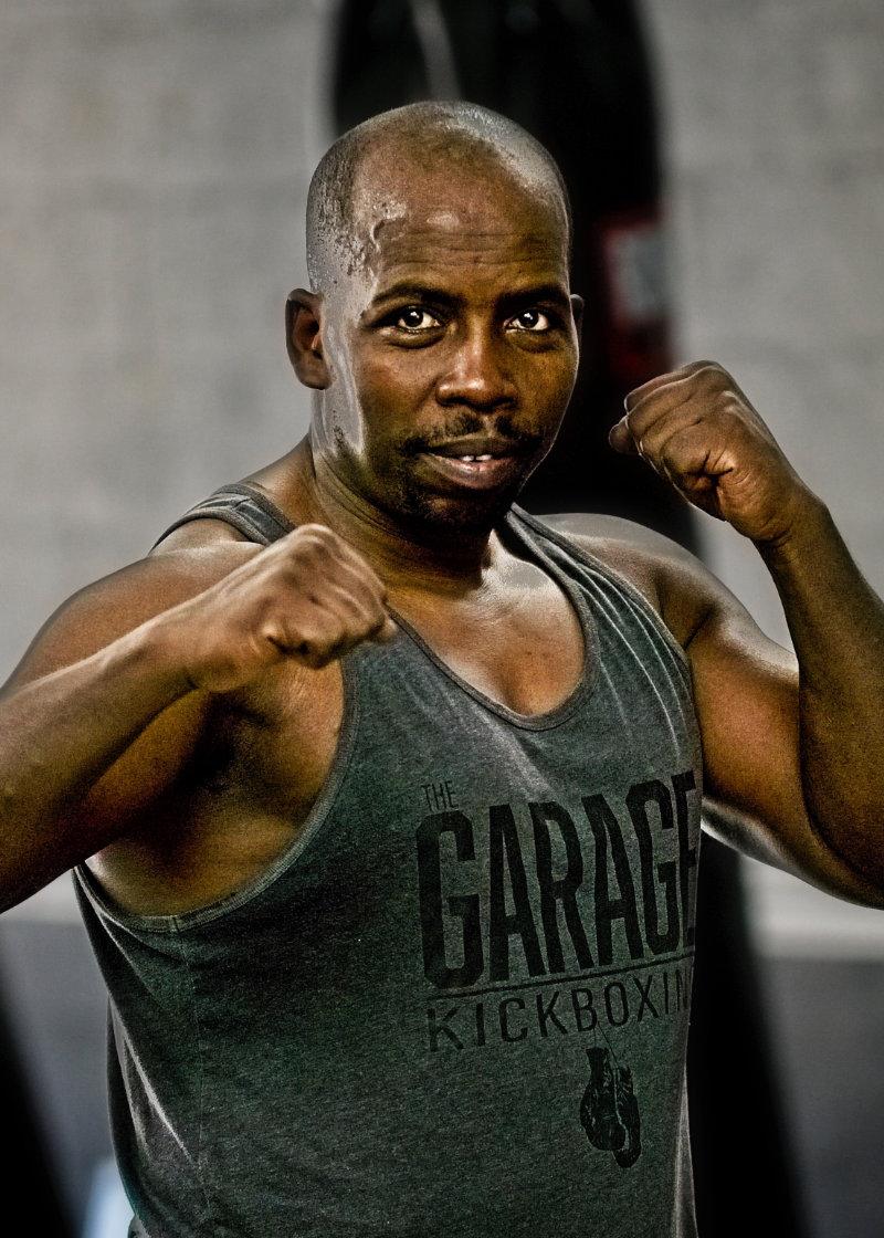 Garage Kickboxing Calera Alabaster Trainer Henry Mwanyalo
